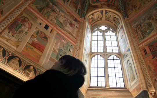 A Montefalco con Benozzo Gozzoli e Perugino