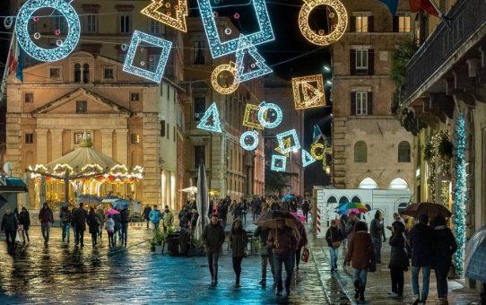 Natale a Perugia, pensando al Grand Tour