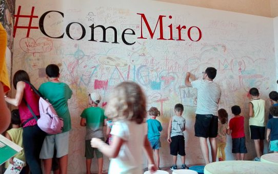 Castiglione del Lago, Joan Mirò e i bambini
